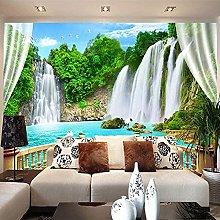 VGFGI Self-Adhesive 3D Wall Art 3D Waterfall