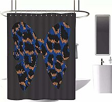 vgfjjuhn Bathroom Decor Elegant Shower Curtain