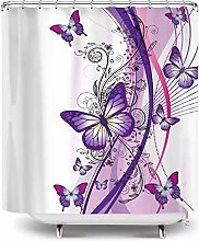 vgfjjuhn Bathroom Decor Fabric Shower Curtain for