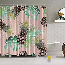 vgfjjuhn Bathroom Decor Pine Tropical Seamless