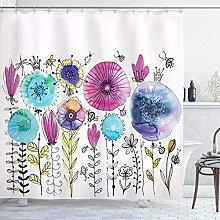 vgfjjuhn Home Decoration Dragonfly Shower Curtain