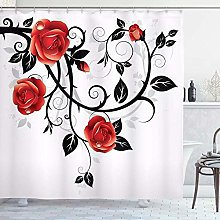 vgfjjuhn Home Decoration Gothic Shower Curtain