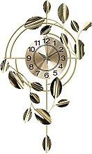 VHFGU Clocks Wall Clocks Living Room Home Silent