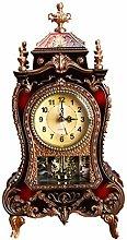 VHFGU Desk Retro Alarm Clock Vintage Clock