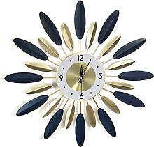 VHFGU Modern Nordic Clock Wall Clock Living Room