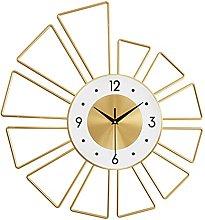 VHFGU Nordic Living Room Clock Decoration Clock