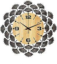 VHFGU Nordic Wall Clock Living Room Home