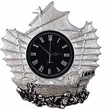 VHFGU Retro Style Vintage Wall Clock with Swinging