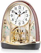VHFGU Silent Stopwatch Movement Table Clock 360