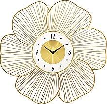 VHFGU Wrought Iron Wall Clock Wall Ornaments