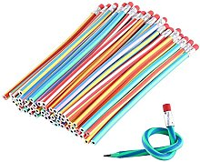 Vi.yo Soft Flexible Bendy Pencils with Eraser