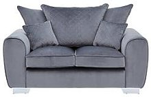 Vibe Fabric 2 Seater Scatter Back Sofa