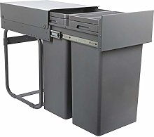 Vibo Kitchen Pull Out Waste Bin for Hinged Door