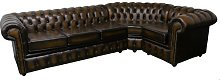 Viburnum Chesterfield Corner Leather Sofa Rosalind