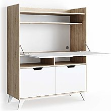 Vicco bureau Berdi desk chest of drawers writing