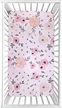 VIccoo Crib Sheets, Crib Fitted Sheet Soft
