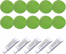 VIccoo Patches, 5 Set Inflatable Boat Repair Kit
