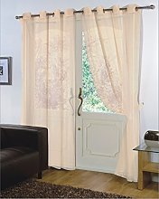viceroy bedding Pair of Plain Voile EYELET/RING
