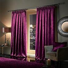 viceroy bedding Plush Heavy Crushed Velvet Door