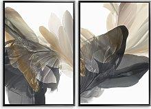 Vicki McFarland - 'Emerging Gold I & II'