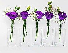 Vicky-50 Mini Vase Set Square Table Topper with