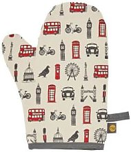 Victoria Eggs - Oven Mitt With London Icons