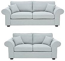 Victoria Fabric 3 Seater + 2 Seater Sofa Set (Buy