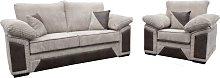 Victoria Fabric Sofa Settee Sets