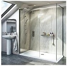 Victoria Plum 8Mm Walk In Shower Enclosure 1200 X