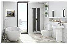 Victoria Plum Freestanding Bath Suite With Close