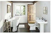 Victoria Plum Roll Top Bath Suite With Traditional