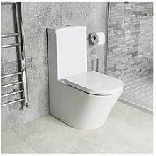 Victoria Plum Round Close Coupled Toilet With Full