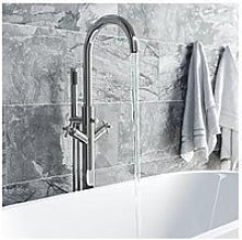Victoria Plum Round Freestanding Bath Filler Tap