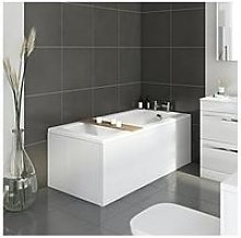 Victoria Plum Straight Bath With Panels And Waste