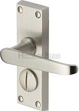 Victoria Privacy Door Handle Heritage Brass