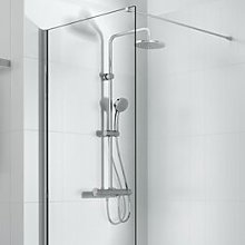 Victoria-T Thermostatic Shower with Dual Shower