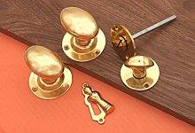 Victorian Oval Mortice Door knob with