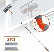 Victoy Telescopic Window Squeegee Cleaner with