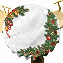 VICWOWONE Christmas Tablecloth - 35 Inch