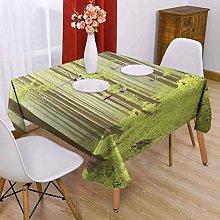 VICWOWONE Woodland Square tablecloth multi-pattern