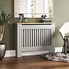 Vida Designs Arlington Radiator Cover Grey Modern