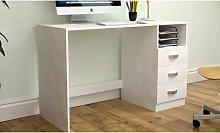 Vida Designs Filey Computer Desk: Pine