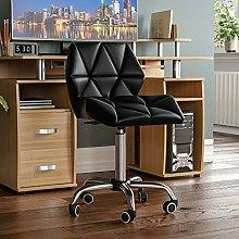 Vida Designs Geo Office Computer Chair, Black,