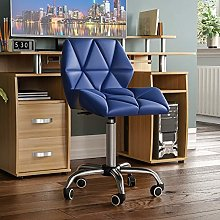 Vida Designs Geo Office Computer Chair, Blue,