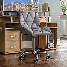 Vida Designs Geo Office Computer Chair, Grey,
