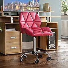 Vida Designs Geo Office Computer Chair, Pink,