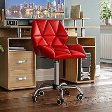 Vida Designs Geo Office Computer Chair, Red,
