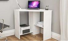 Vida Designs Hetton Corner Computer Desk: Pine