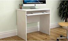 Vida Designs Huby Computer Desk: Pine