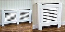 Vida Designs Milton Radiator Cover White Modern
